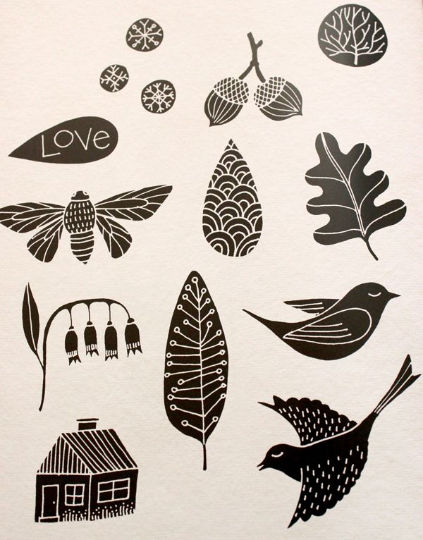 Stamp Carving is Awesome! - Happiness is Homemade
