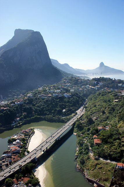 Barra da Tijuca District in Rio de Janeiro, Brazil (by Rubem Jr).