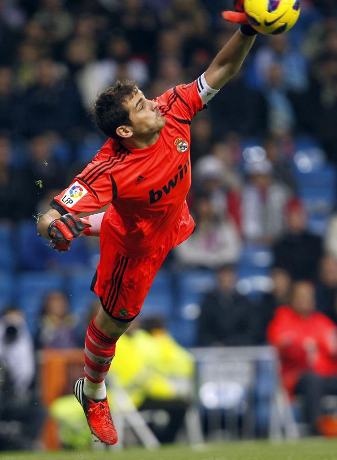 Iker Casillas, even though im a barcalonera got to love my baby iker from Real Madrid.