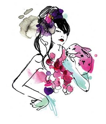 Scrapbook: Rebecca Wetzler - Fashion Illustrator