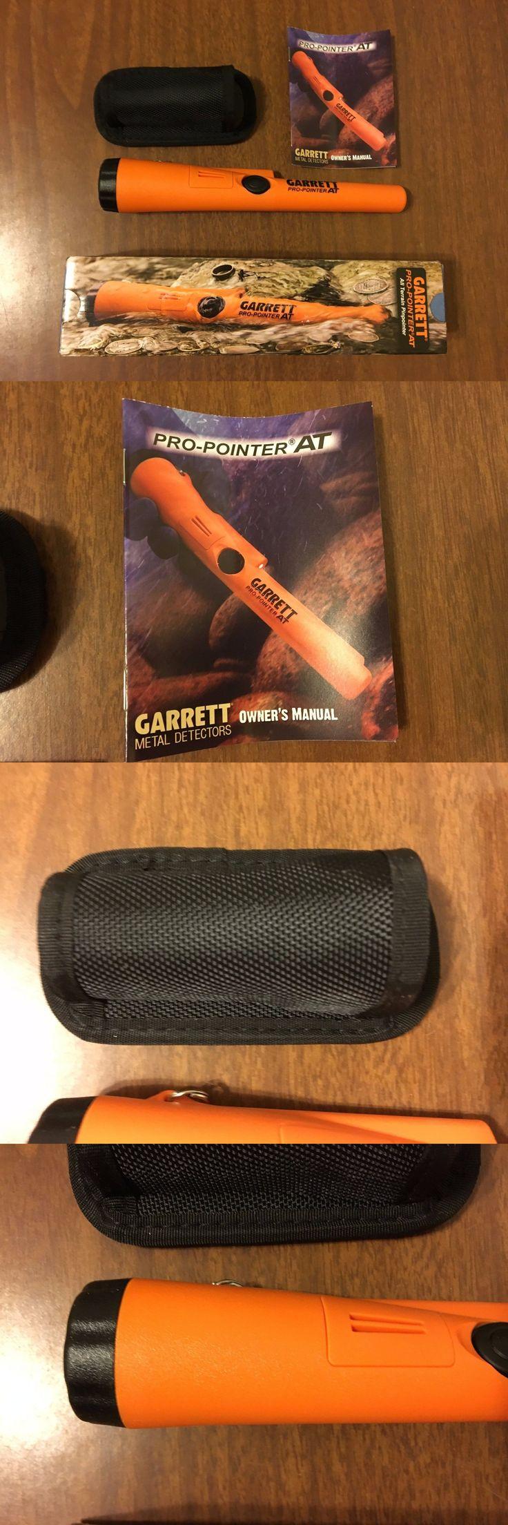 Metal Detectors: New Garrett Metal Detectors Propointer At Pinpointer W/ Holster Waterproof -> BUY IT NOW ONLY: $127.45 on eBay!