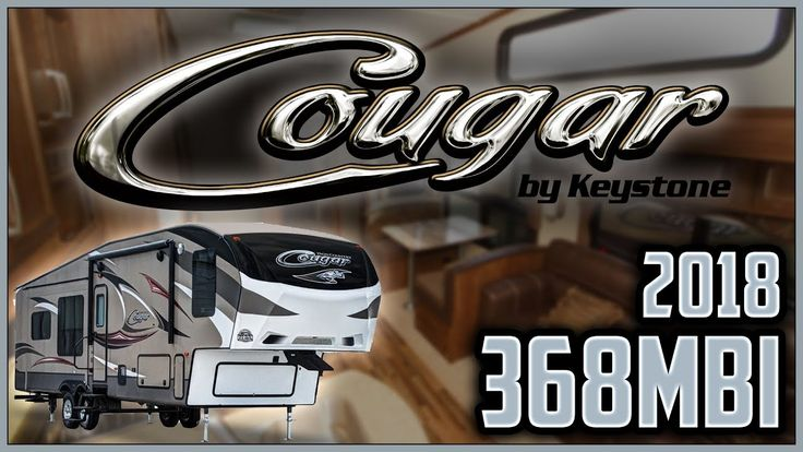 2018 Keystone Cougar 368MBI Fifth Wheel RV For Sale Lakeshore RV Center Find out more about 2018 Cougar 368MBI at https://lakeshore-rv.com/cougar-rv/cougar-368mbi/?pr=true call 231.760.8805 or stop in and see one today!  This 40 foot 1 inch-long 2018 Cougar 368MBI fifth wheel from Lakeshore RV has all the special touches and amenities youre looking for!   This awesome Cougar fifth wheel has unobstructed pass-thru storage compartments for all your camping accessories. An exterior TV hookup is…