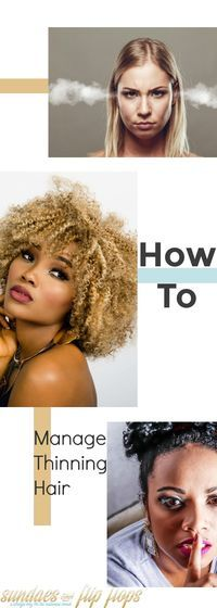 Don't let thinning hair hold you back from a full and exciting life. Use these tips to regain your confidence. via @amberkillmon