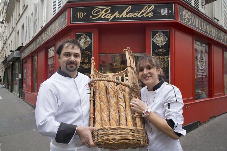 Boulanger de l'année : Priscillia et Sébastien Hayertz Boulangerie Raphaëlle – Paris 18e