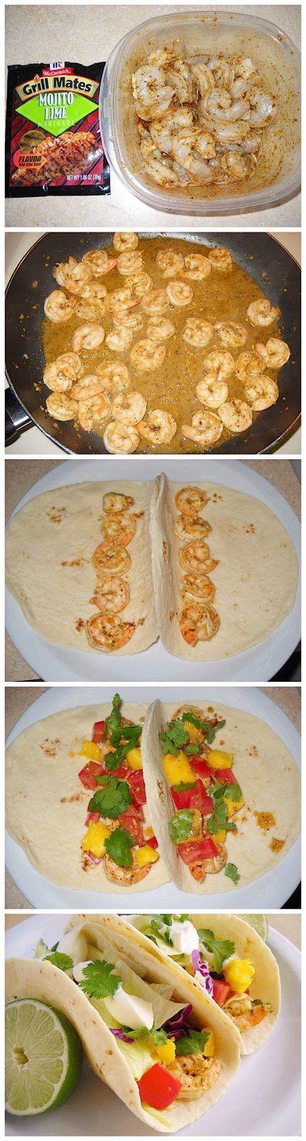 Super Simple Shrimp Tacos - Joybx