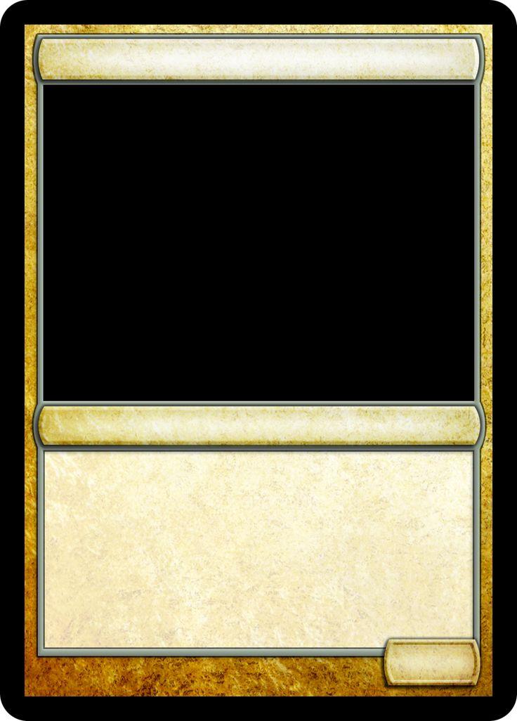 Mtg Card Frame Template Doritrcatodos