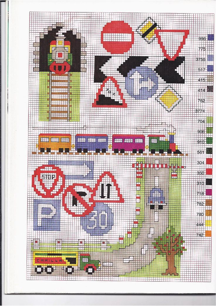 cartelli stradali alfabeto strada