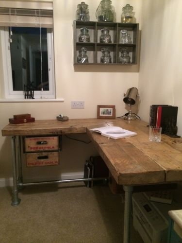 Industrial-Salvage-Computer-Desk-with-Reclaimed-Pepsi-Crate-Drawers