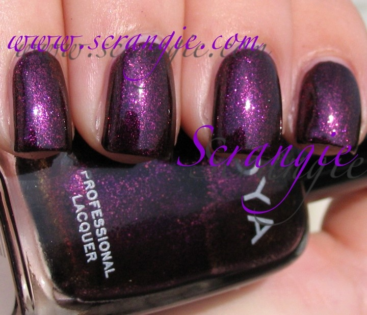 Valerie - Scrangie: Zoya Fire and Ice Collection for Winter/Holiday 2010
