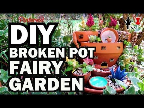 DIY Fairy Garden, Corinne VS Pin – YouTube