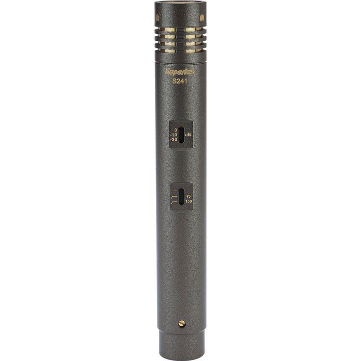 Superlux S241/U3 True Capacitor Small Diaphragm Cardioid Condenser Microphone