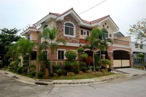 Bulacan real estate contractor house design philippines for Estate home plans designs