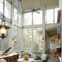 Charleston Porch Design Ideas, Pictures, Remodel and Decor