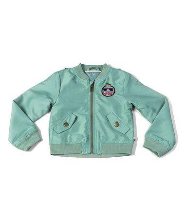 Green Bomber Jacket - Toddler & Boys #zulily #zulilyfinds