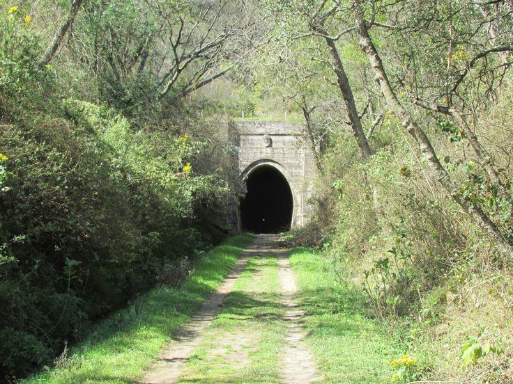 Catamarca, La Merced, Tunel ferroviario en desuso