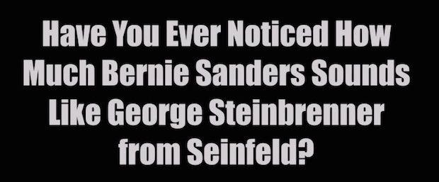 Vocal doppelgänger? Listen to Bernie Sanders and Seinfeld's 'George Steinbrenner'