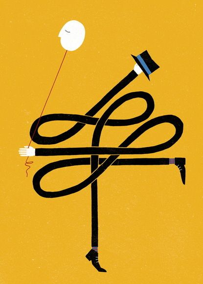 illustration, poster, graphic design, yellow, The Project Twins | Fine Art