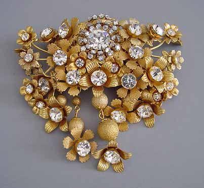 2620 best MIRIAM HASKELL VINTAGE COSTUME JEWELRY images on & Vintage costume jewelry designers
