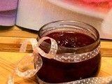 Confiture de fraises et canneberges au vinaigre balsamique