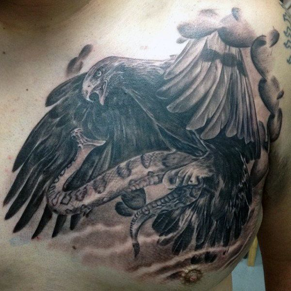 50 Mexican Eagle Tattoo Designs For Men Manly Ink Ideas Aztec Tattoo Eagle Tattoo Mexican Eagle
