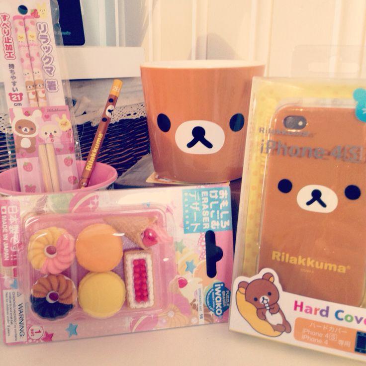 Rilakuma teddy bear japan