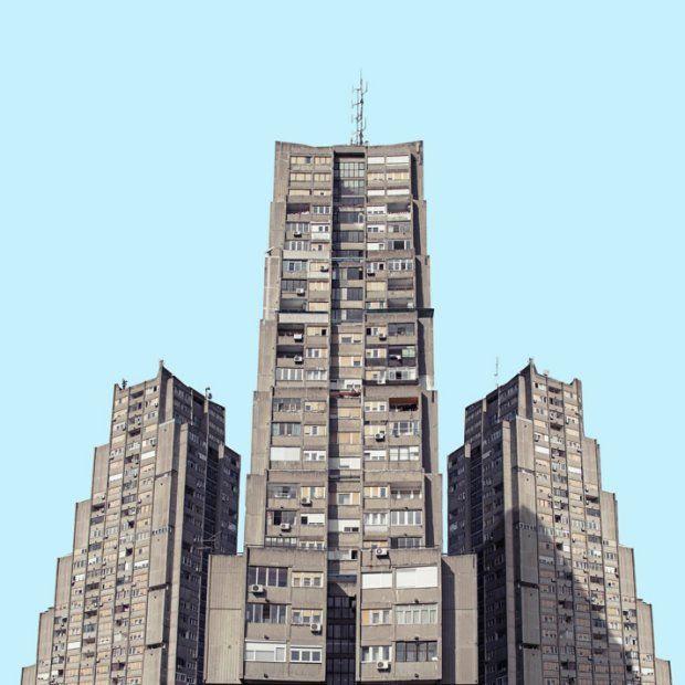 Zdjęcie numer 9 w galerii - Belgradzki epizod Gwiezdnych Wojen. Socjalistyczna architektura rodem z przyszłości