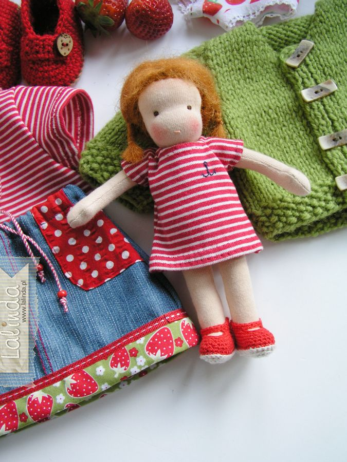 Łucja – lalka dla lalki | Lalinda