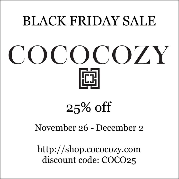 Coveted a COCOCOZY #Pillow or #Throw Blanket!  Now is the time to add it to your #home with 25% off from http://shop.cococozy.com - #blackfriday #sale
