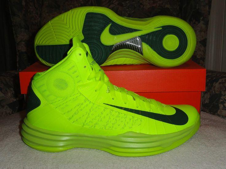 Nike Hyperdunk 2012 Volt Gorge Green Dead Stock Basketball Sneakers #Nike  #NikeHyperdunk #NikeBasketball #Hyperdunk #coupons #coupon #nike  #timberland ...