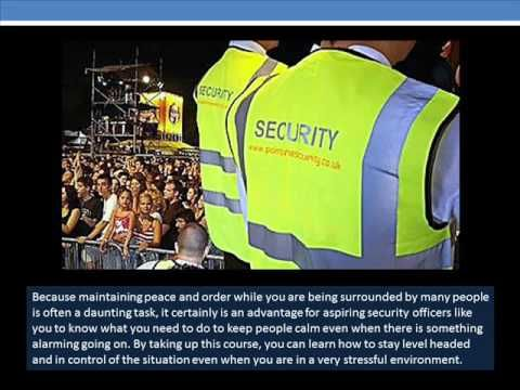 The Things You Will Learn When You Take Up Security Officer Courses - YouTube