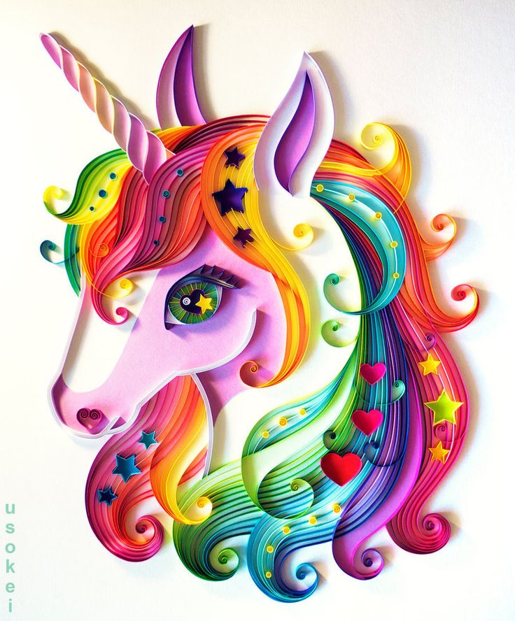 Unicorn by UsoKei on DeviantArt