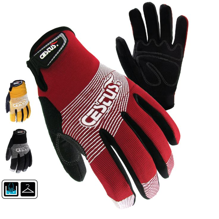 GenU II: A versatile, lightweight glove with padded knuckles. Features two-way stretch spandex, and a lightly padded palm with reinforced stitching. Thumb, index, and middle finger are reinforced for added durability.