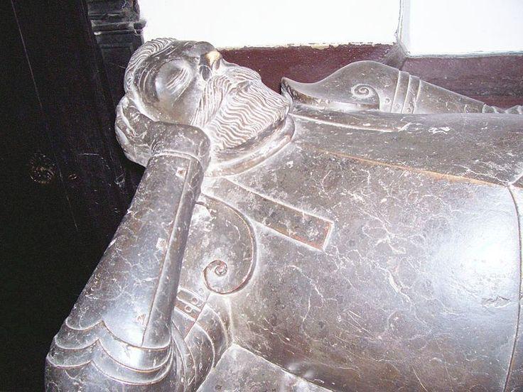 Postać hetmana z nagrobka w Koniecpolu (drugi podobny znajduje się w ukraińskich Brodach)