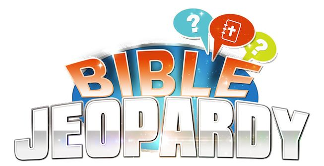 Bible Jeopardy: New Bible Trivia Game Promises to Fill Your Next Class or Gathering  With Fun,  excitement, Good-Natured Competition… & Lots & Lots of Smiles!  $