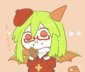 yosafire and her cookie