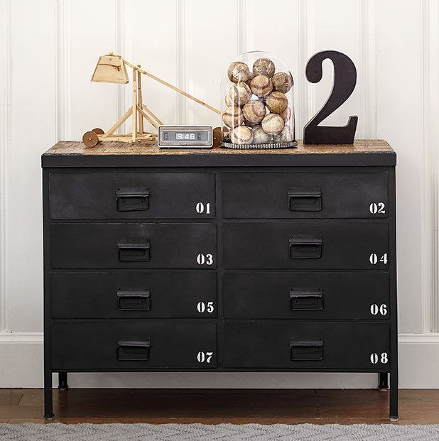 Trend spotting: Get in the game! - This locker-inspired dresser makes it easy to turn any kids room into a sports room!
