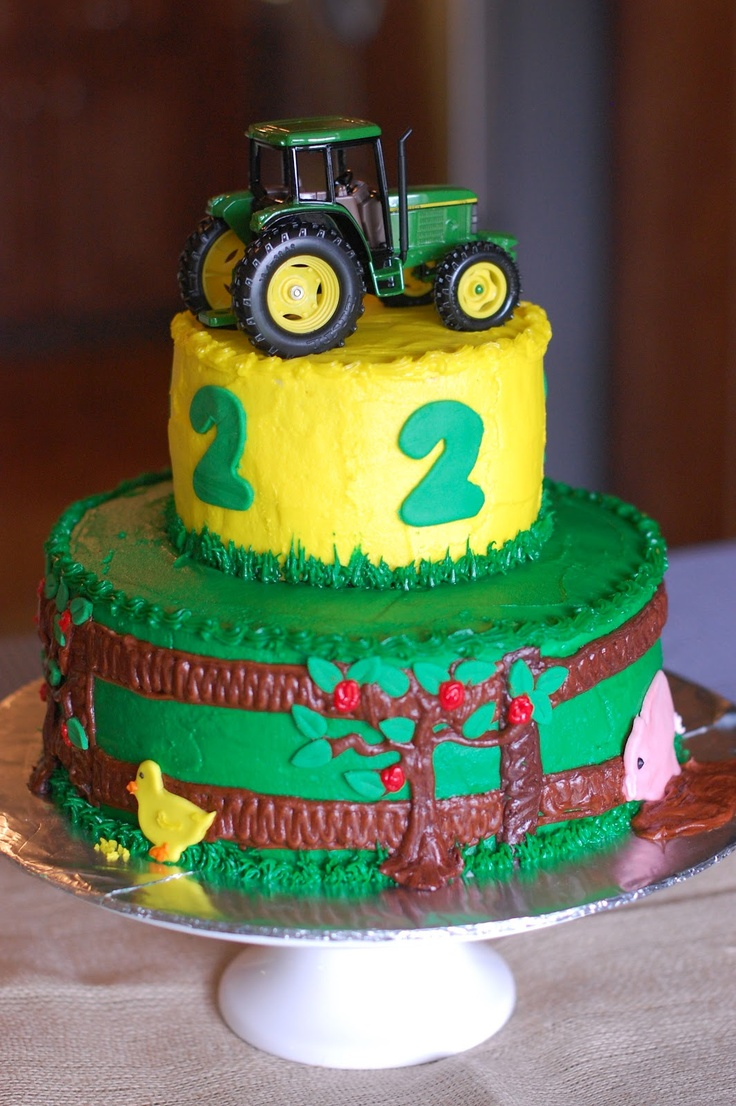 86 best Tractor cake ideas images on Pinterest Tractor cakes
