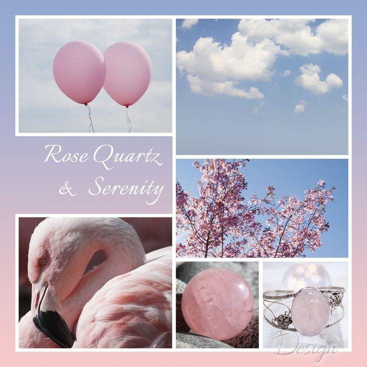 Fotómontázs | Pantone | Rose Quartz & Serenity