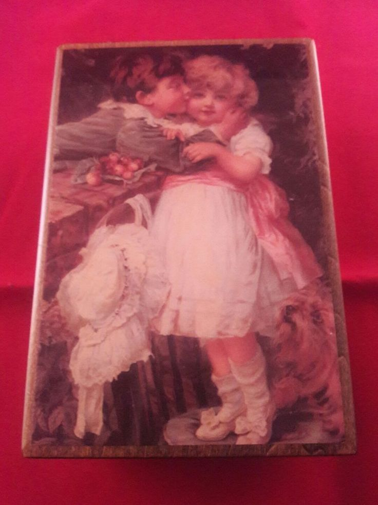 Vintage American Music Box Company Jewelry Box - Romance - Reuge Musical Works