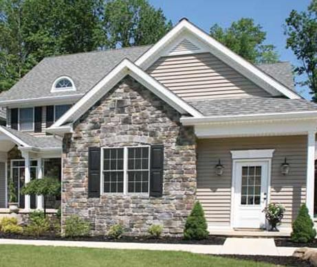 16 best stone work by stone craft images on pinterest Vinyl siding that looks like stone