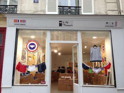Pop up store parisien du slip français
