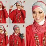 kreasi-jilbab-pesta-dua-warna-simple_tutorial-memakai-hijab-jilbab