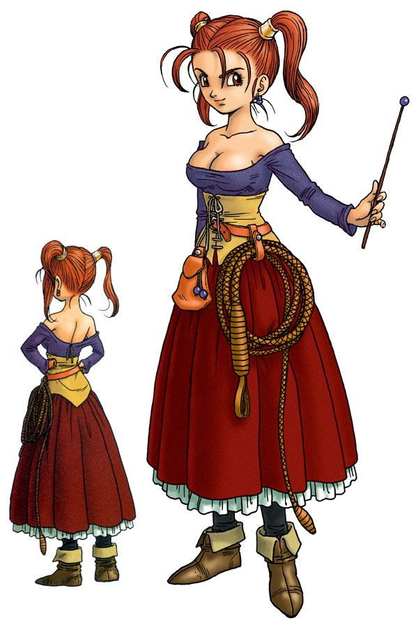 Jessica Albert from Dragon Quest 8. A slightly tsundere, headstrong tomboy who is a pretty badass magician. However, I don't really approve of her revealing outfits that they give her through game, but oh well. We love her nonetheless.