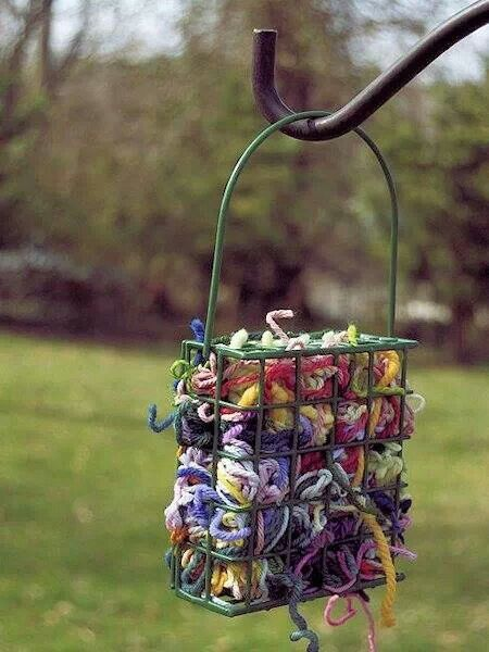 Yarn for bird nests