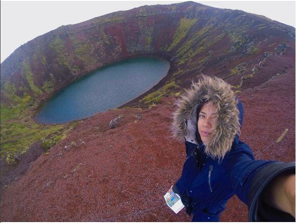 исландия вулкан