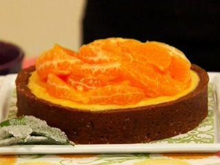 Tarta de Mandarinas- Aprovechar los frutos de estación es lo mejor .