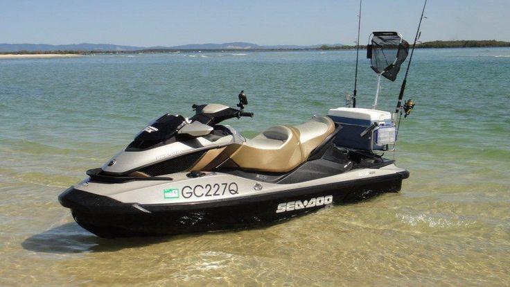 Jet ski fishing brisbane jetski fishing wave runner for Fishing jet boat