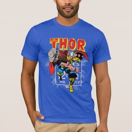 Thor Retro Comic Price Graphic T-Shirt - tap, personalize, buy right now!