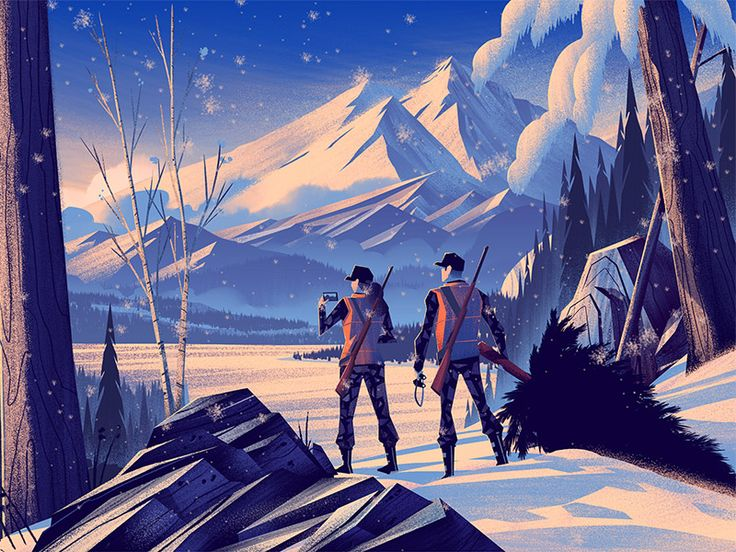 New illustration work for Field & Stream!   Read more about my editorial illustration process here:  http://orlincultureshop.com/blog/2015/2/6/field-stream-first-hunt  Thanks for viewing!