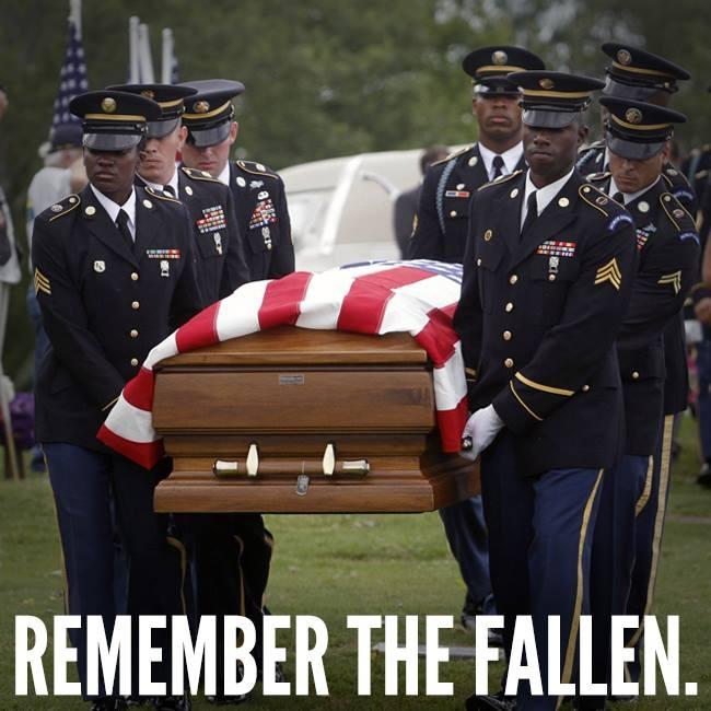 Remember the fallen.